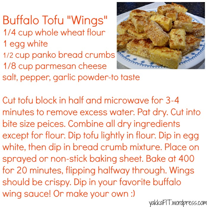 Buffalo Tofu Wings