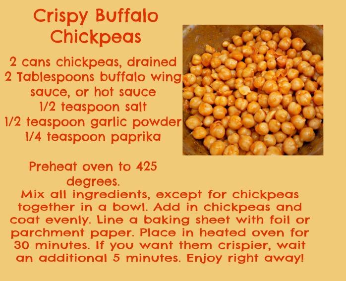 Buffalo Chickpeas