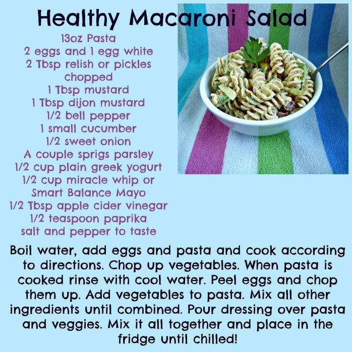 Mac Salad Recipe