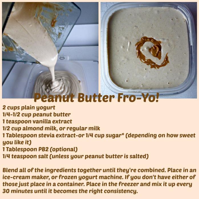 Peanut Butter Fro Yo