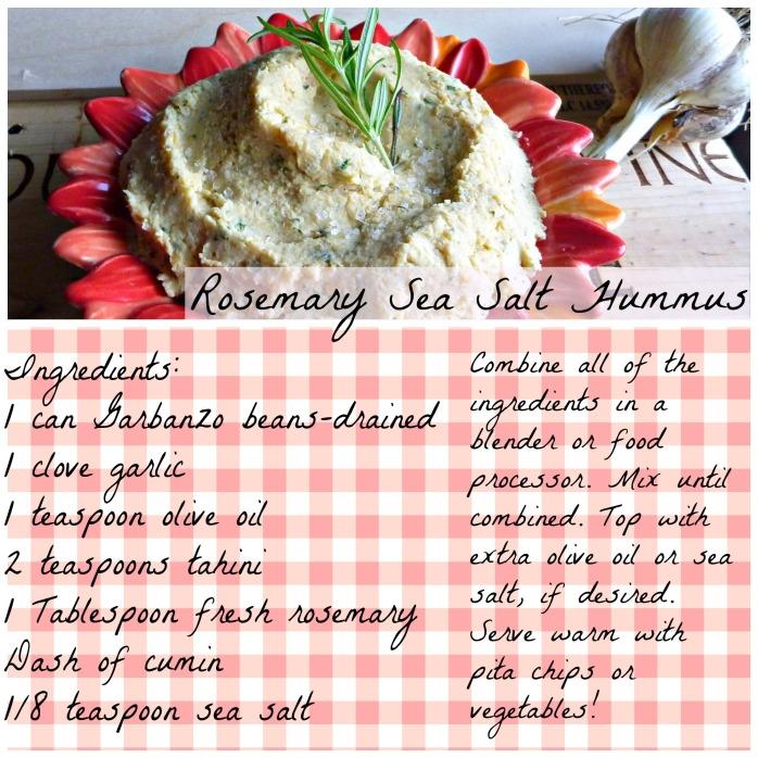 Rosemary Hummus