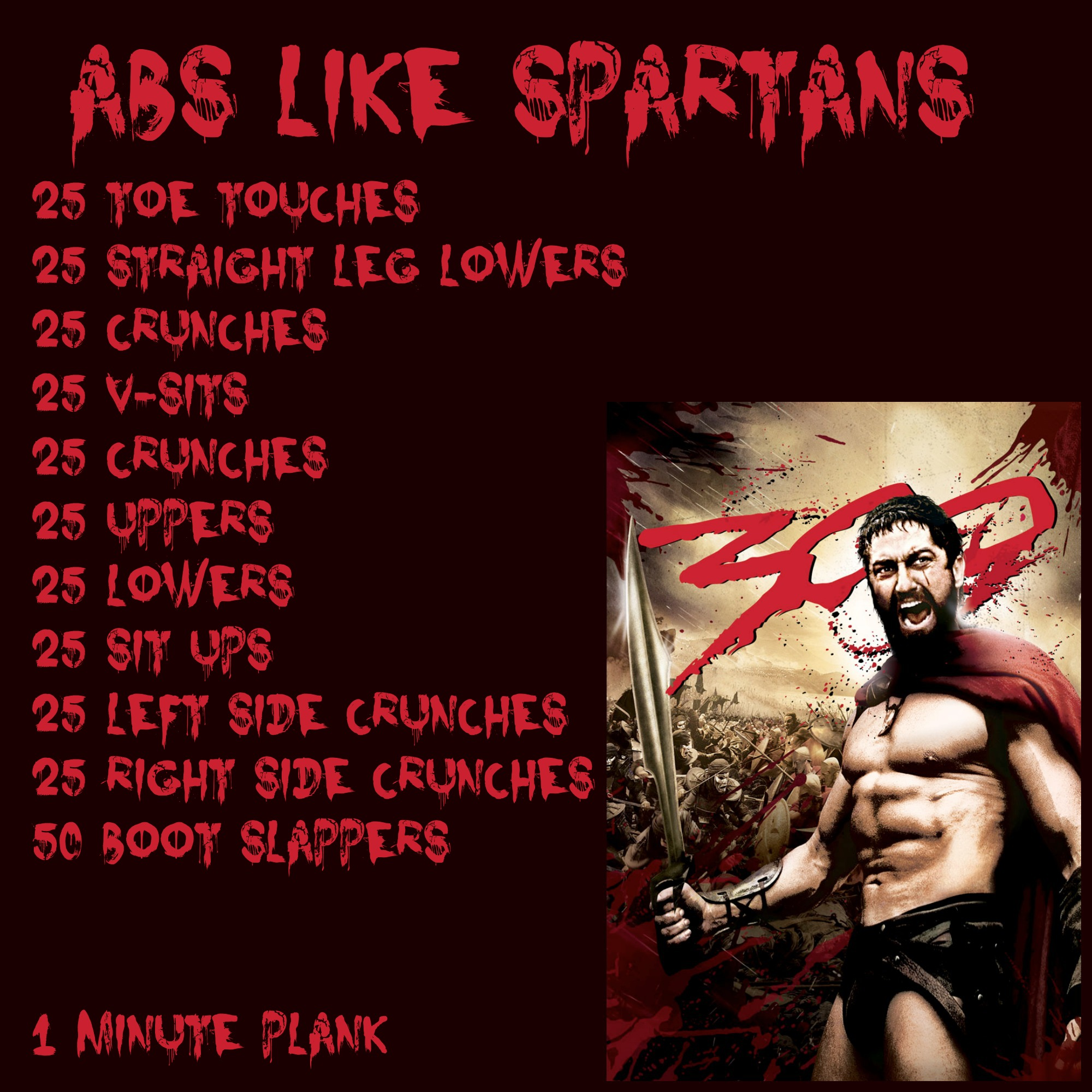 300 get the spartan sixpack yakkafit