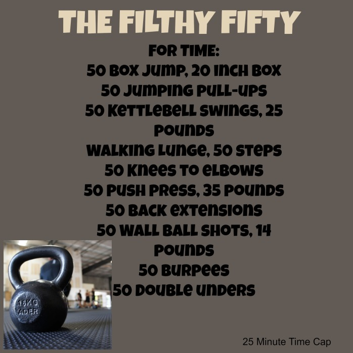 Filthy 50 Workout