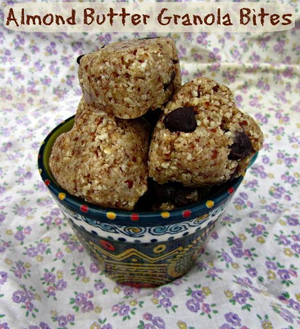 Granola Bar Bites